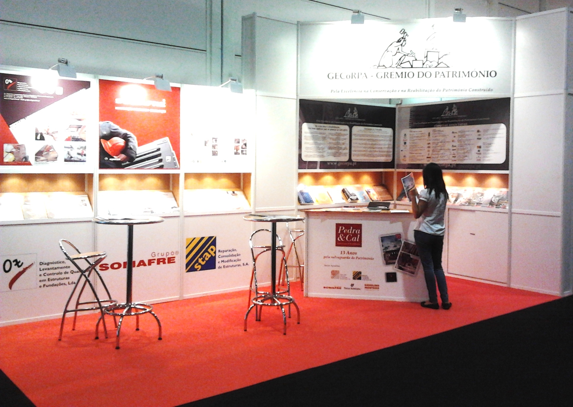Vista do stand do GECoRPA no SIL 2011