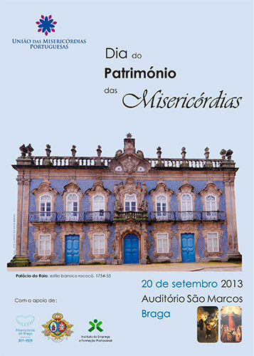 Cartaz do Dia do Património das Misericórdias 2013